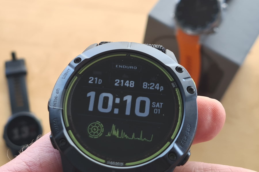 Garmin enduro test