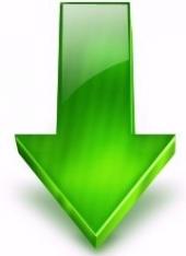 Afbeeldingsresultaat voor groene pijl naar beneden