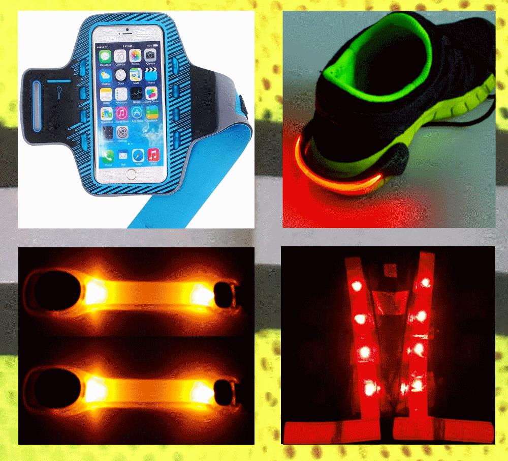 Hardloop verlichting en reflectie | Test van Beste LED voor in het ...