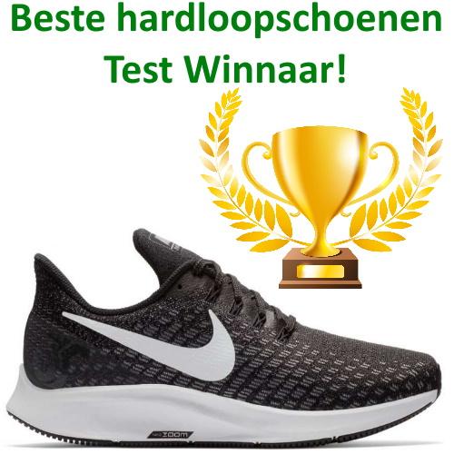 winnaar beste hardloopschoenen test