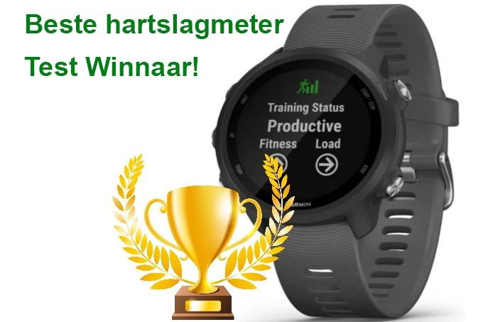 winnaar beste hartslagmeter test